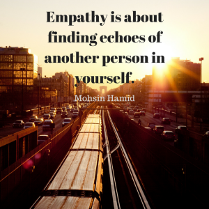 Mohsin Hamid empathy quote